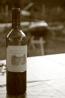Vin, barbecue, la vie quoi !